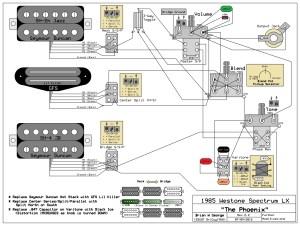 Bc Rich Warlock Guitar Wiring Diagram  Circuit Diagram Maker