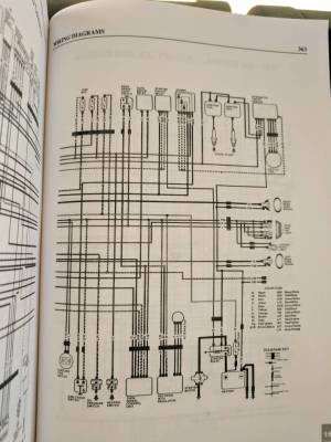 Here's Our Wiring Diagram | THE KAWASAKI EN450  454 LTD FORUM