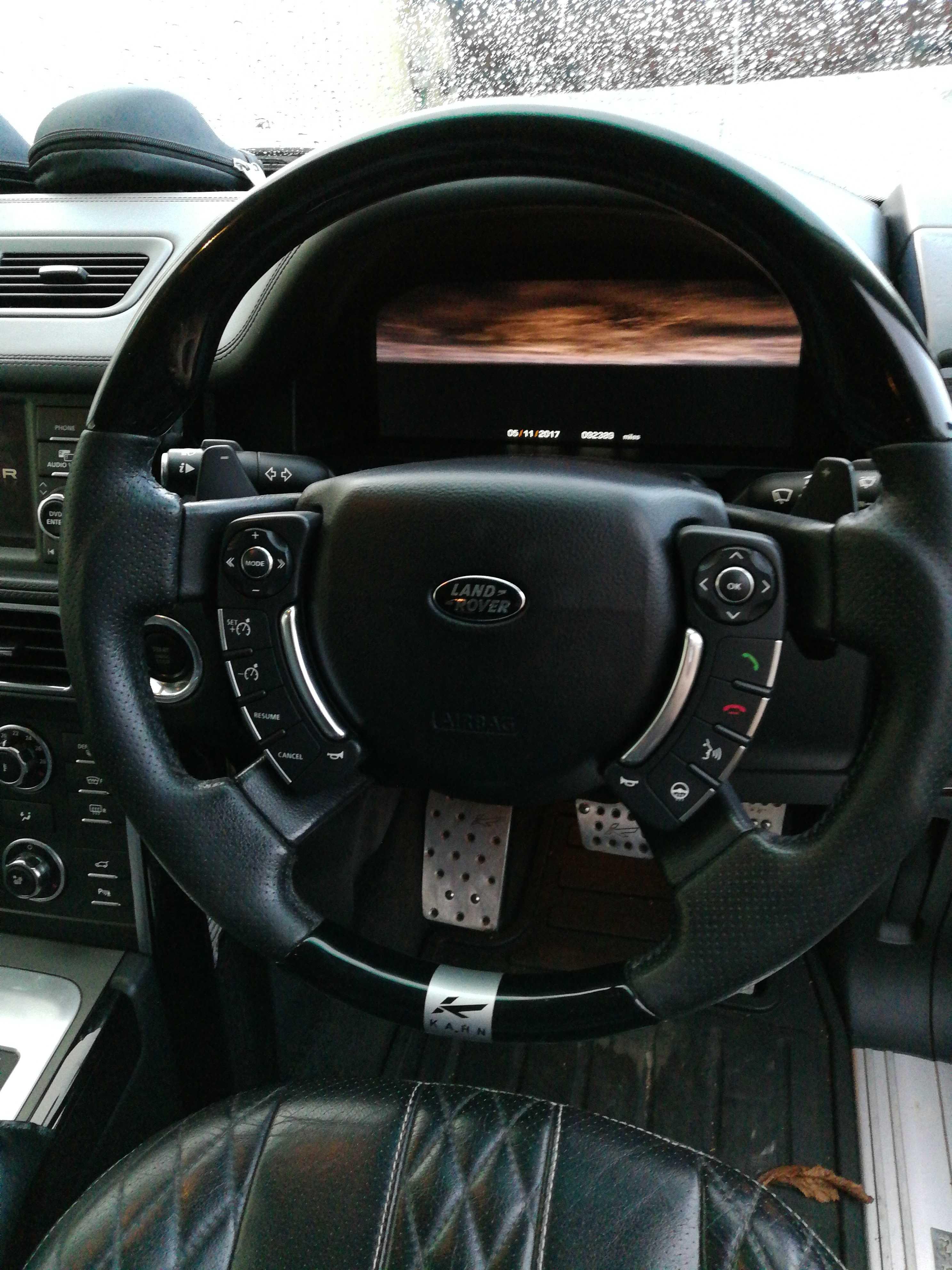 2012 L322 autobiography heated Kahn steering wheel issue