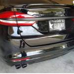Another Starting The Chrome Delete Mod Ford Fusion V6 Sport Forum
