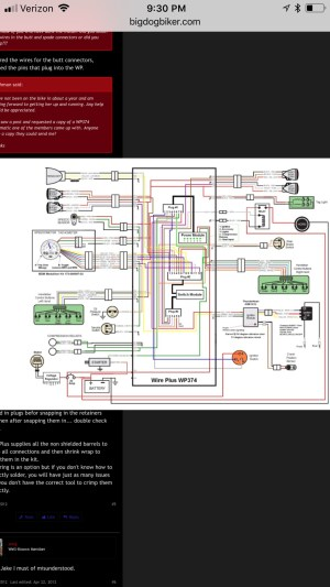 Wire plus 2004 pitbull wiring harness | Big Dog Motorcycles Forum