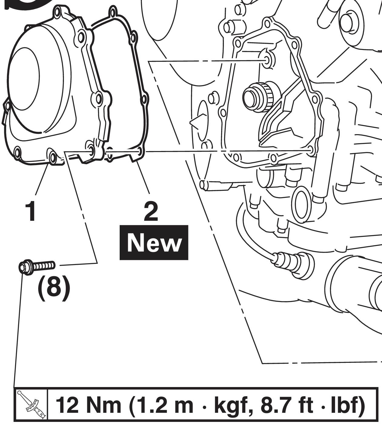 Help With Replacing Crankcase Cover