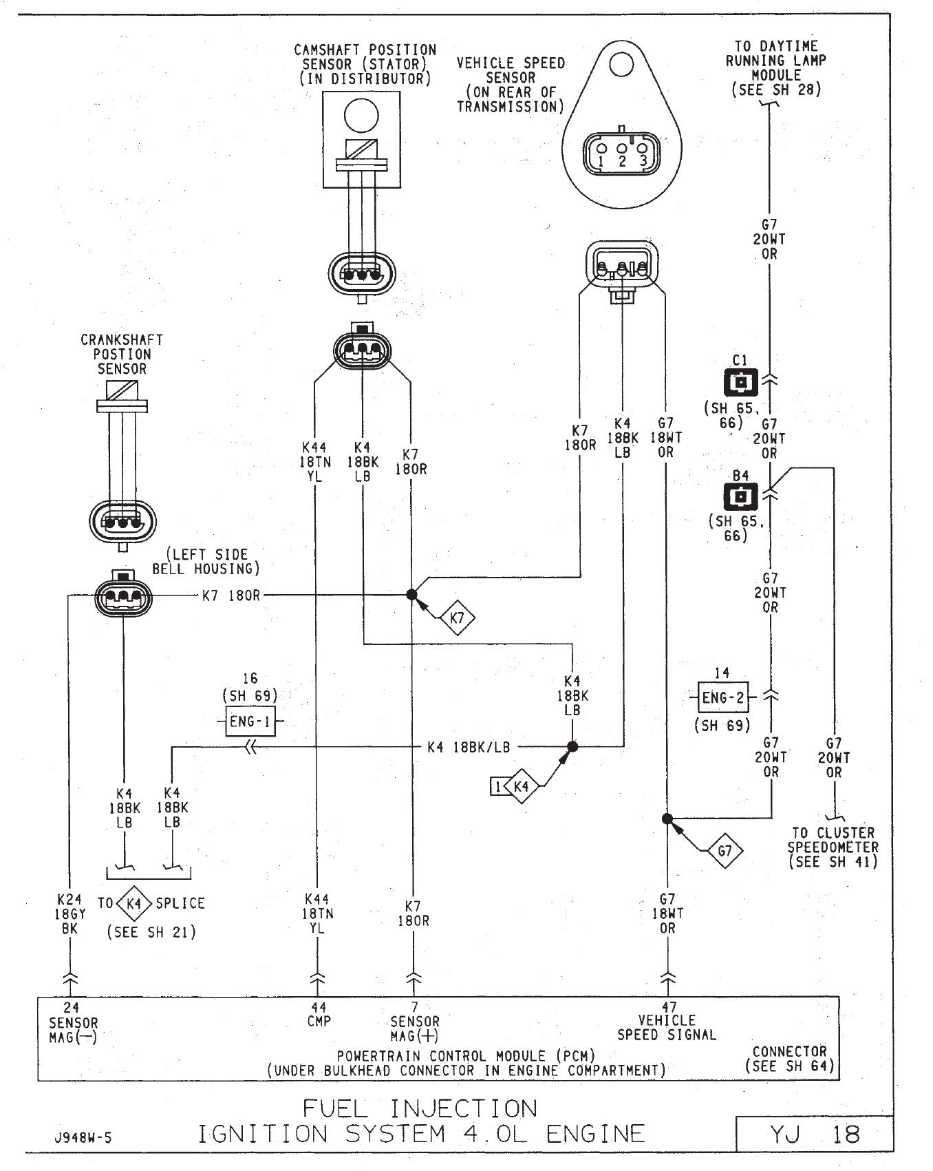 94 Yj 4 0 Electrical Problems