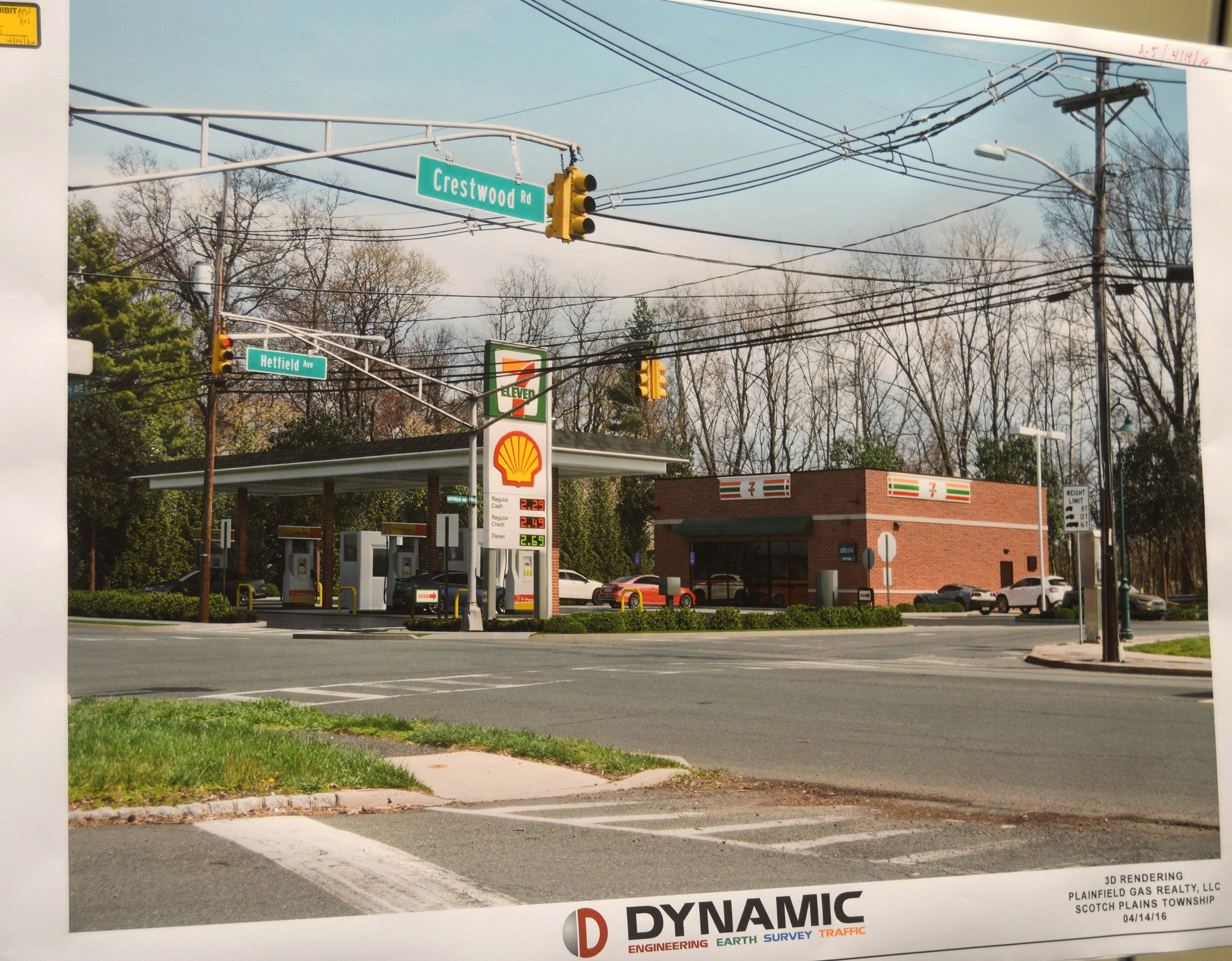 Despite Neighborhood Opposition Scotch Plains Zoning Board Approves Gas Station Convenience
