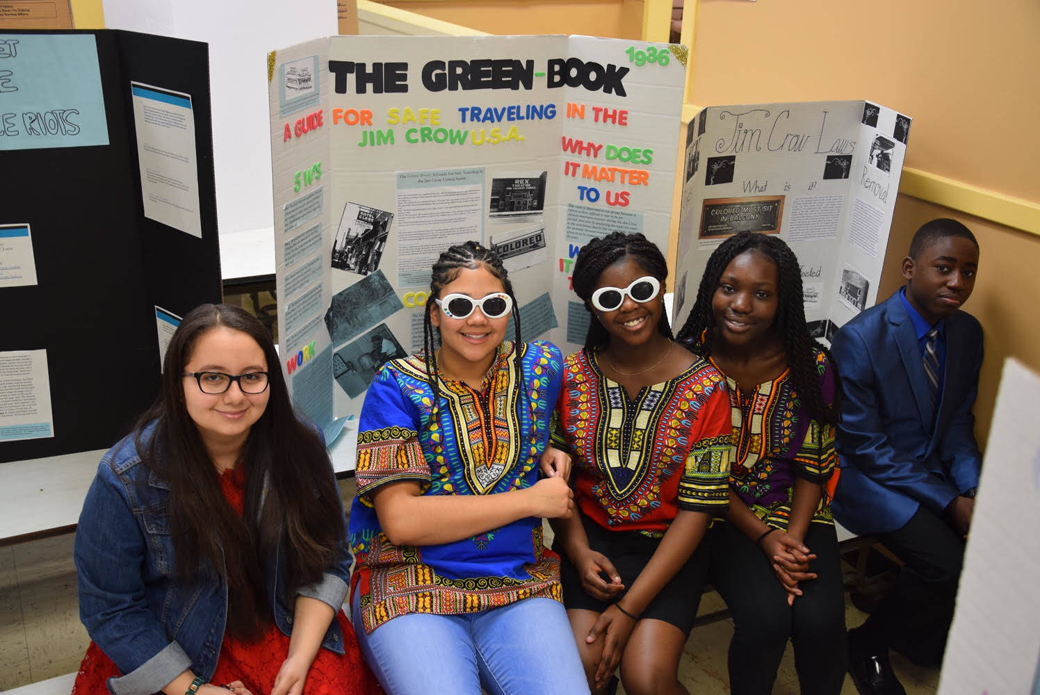 Students At Burnet Middle School Honor African American