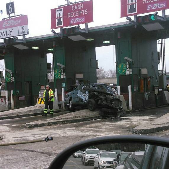 Captivating Update Garden State Parkway Fatal Accident At Union Toll Plaza