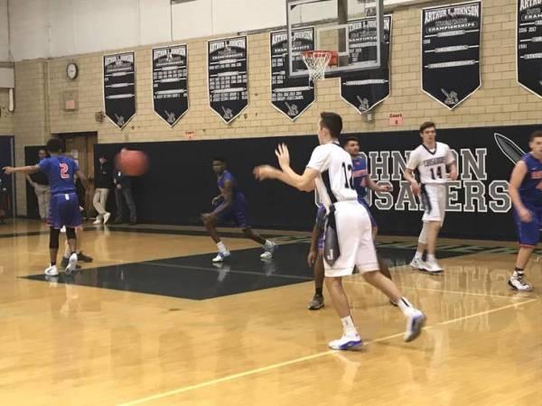 Boys Basketball: Johnson Crusaders Defeat Jonathan Dayton ...