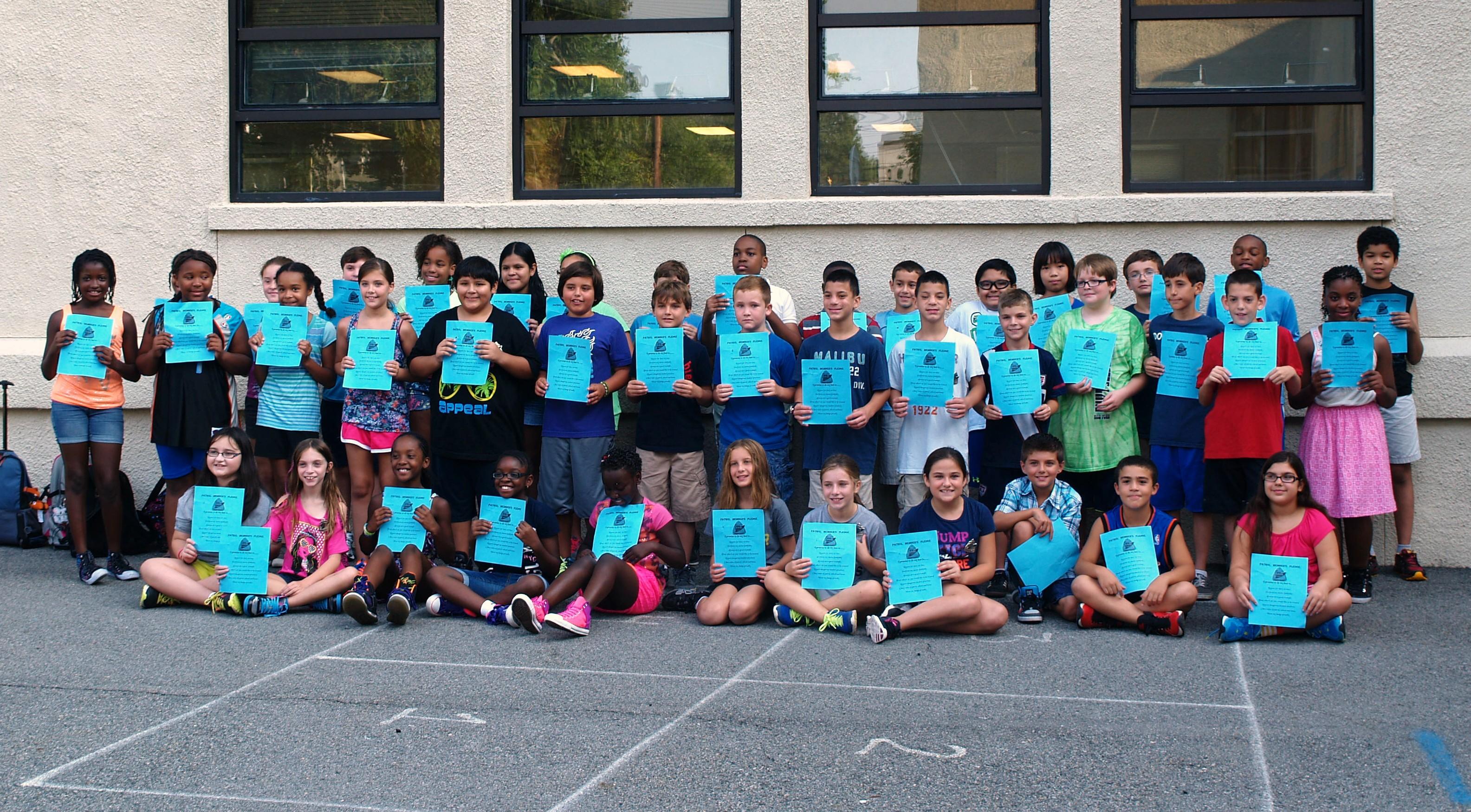 Gregory Elementary School Fifth Grade Safety Patrol