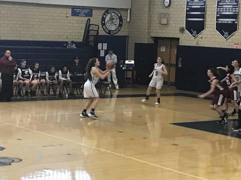 Girls Basketball: Shorthanded Johnson Crusaders Defeat ...