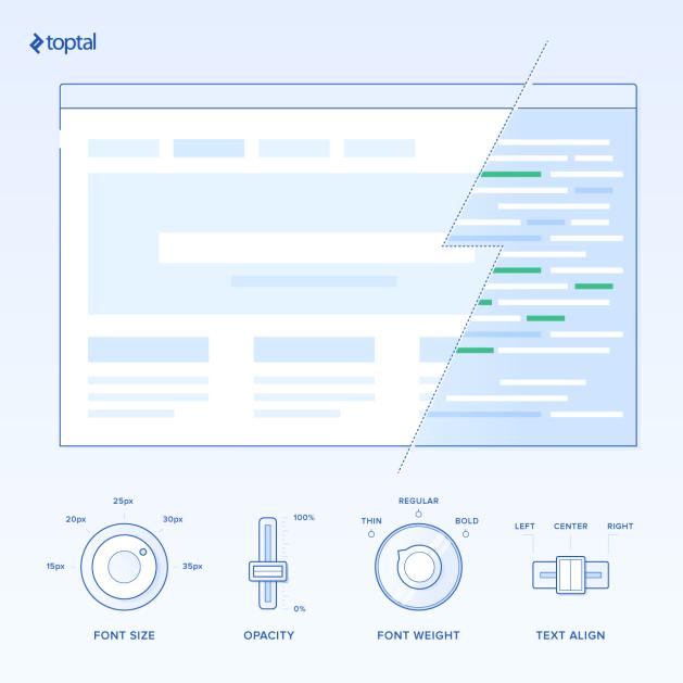 Using CSS custom properties