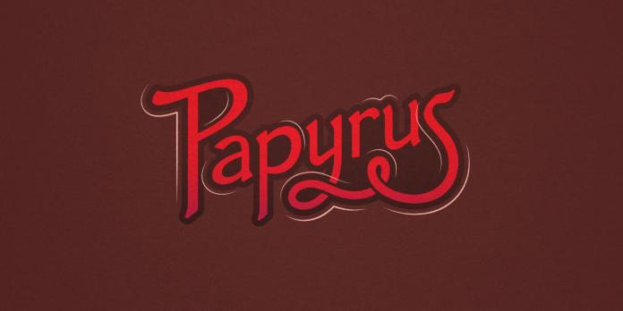 Papyrus reborn: Wide view