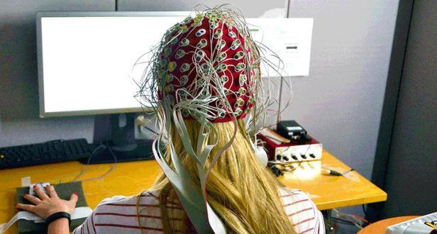 análisis de ondas cerebrales prueba de psicología del diseño