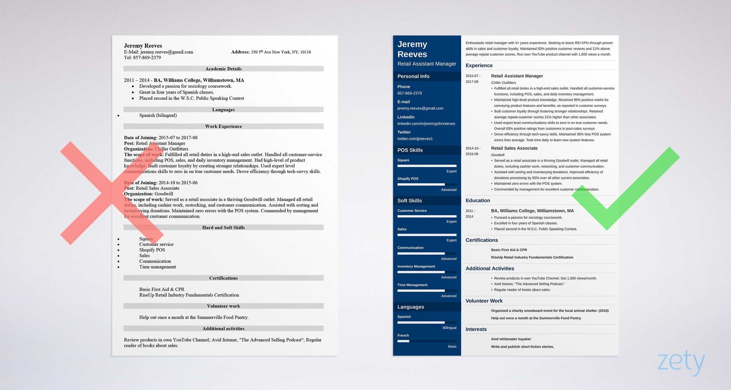 Assistant Manager Resume Sample Amp Complete Guide 20