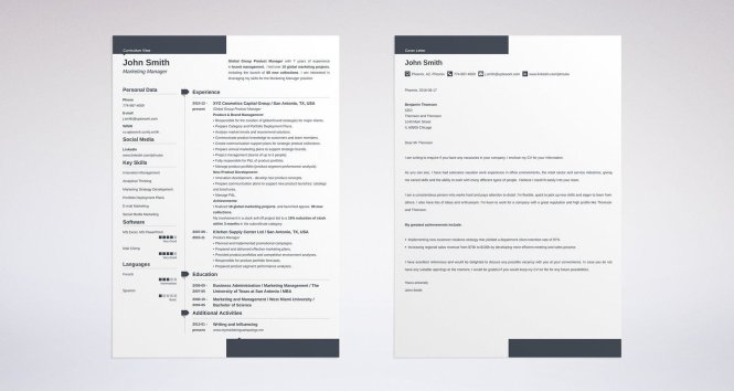 Resume Cover Letter Exles For Every Job Search Livecareer 25