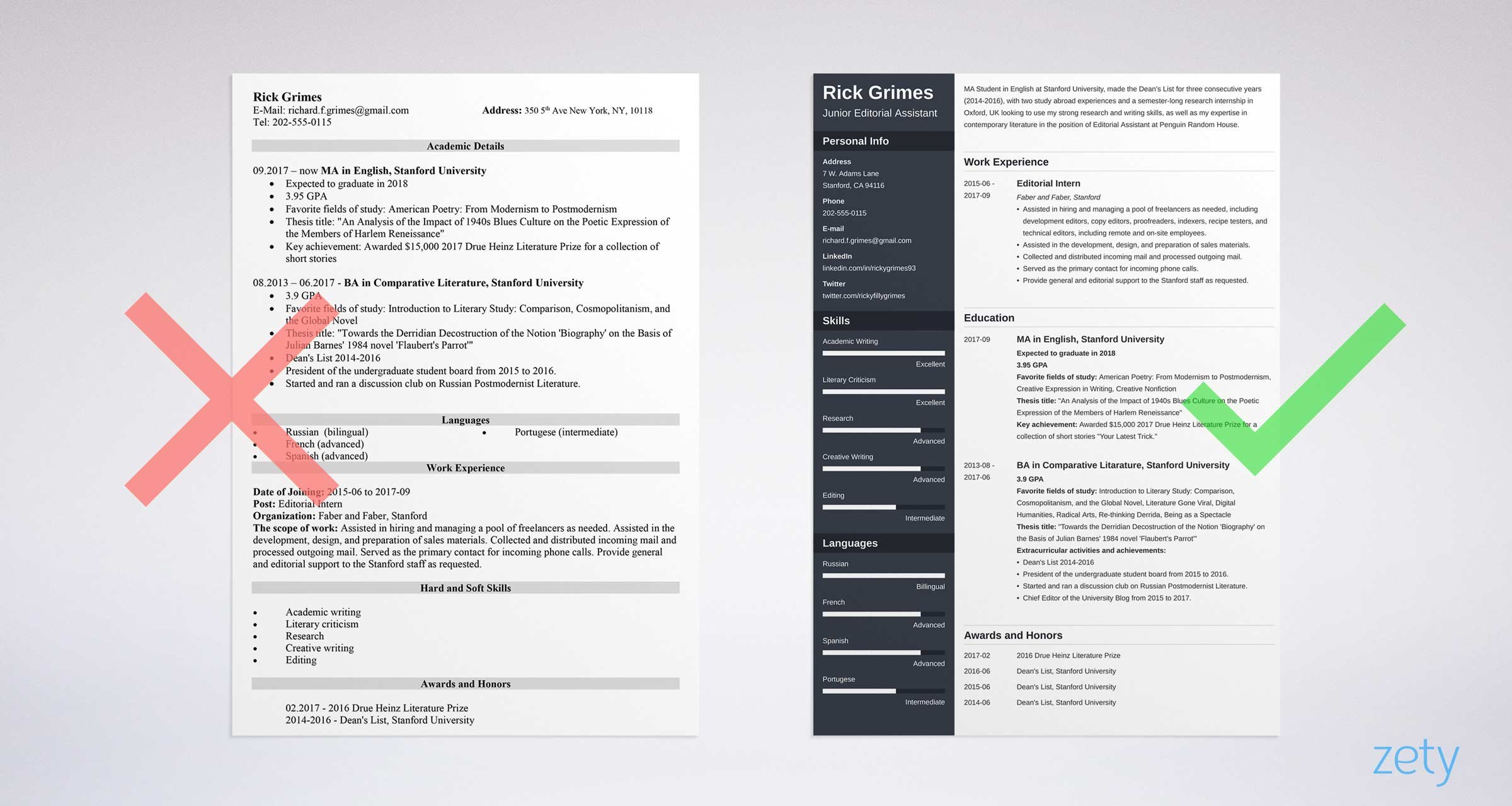 Student Resume Templates 15 Examples You Can Download And
