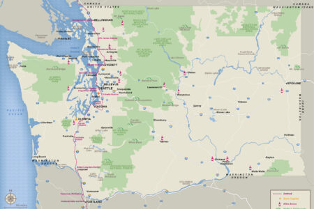 Maps   Visit Seattle Washington State