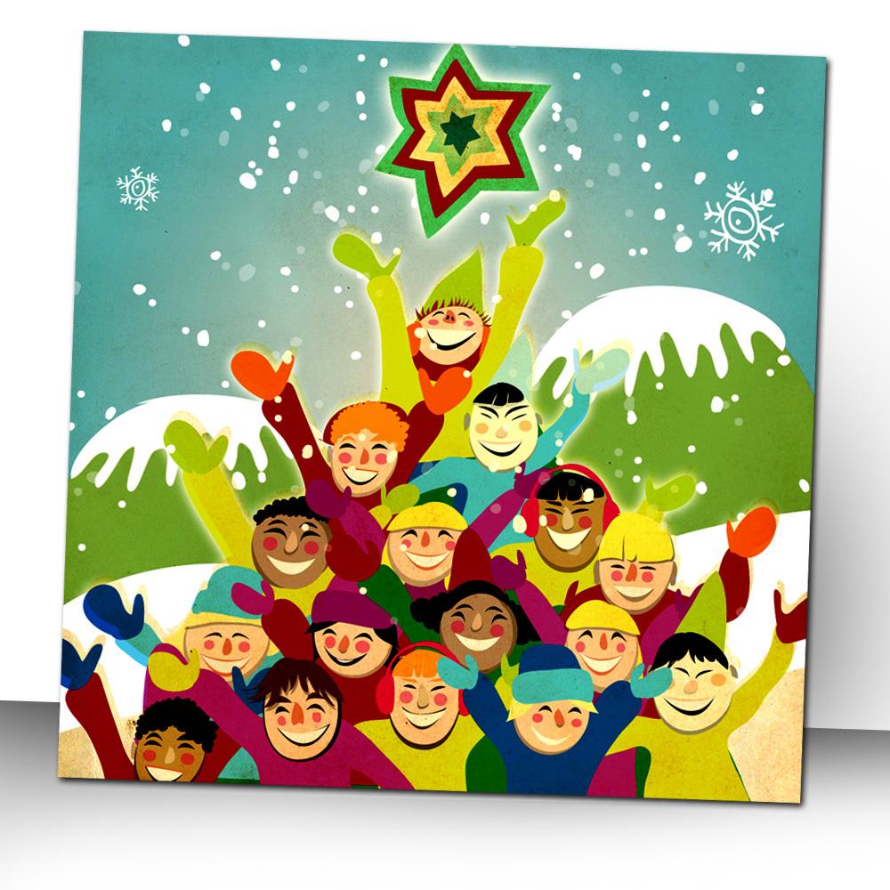unicef holiday cards golden nativity set of 12 unicef holiday ...