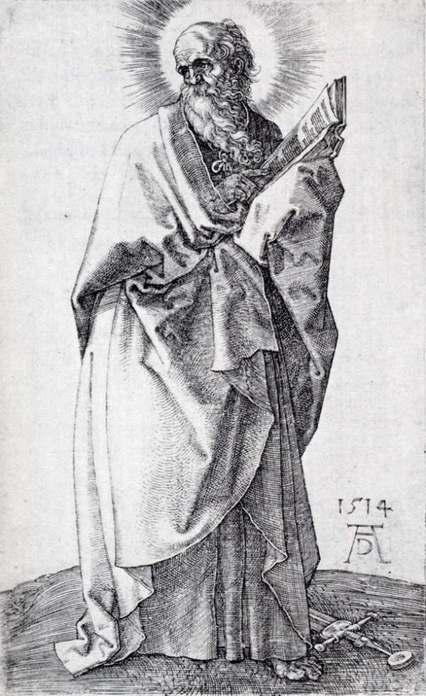 St. Paul (First State), 1514 - Albrecht Durer - WikiArt.org