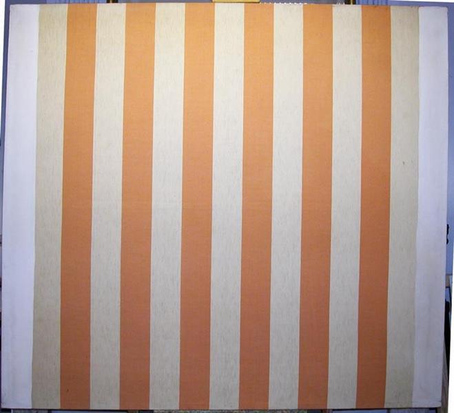peinture acrylique blanche sur tissu