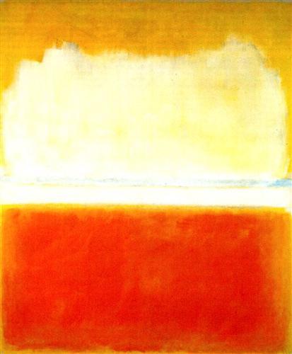 N. 8, Mark Rothko (1952, óleo sobre tela, 1,73 x 2,05 m)