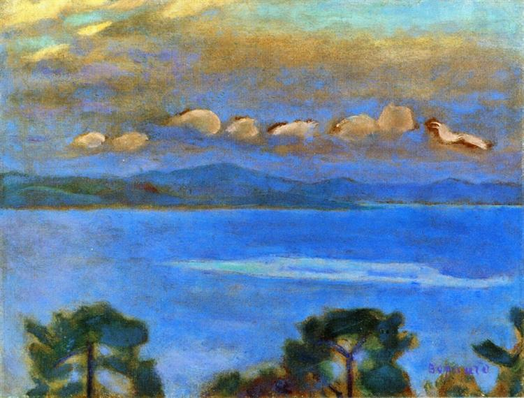 Night Landscape 1912 Pierre Bonnard