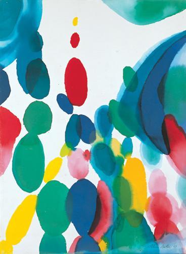 Alice Baber, Abstract art, thanbauk, writing challenge