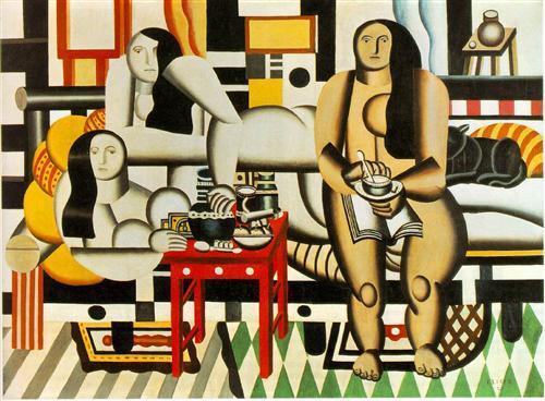 Three Women - Fernand Leger