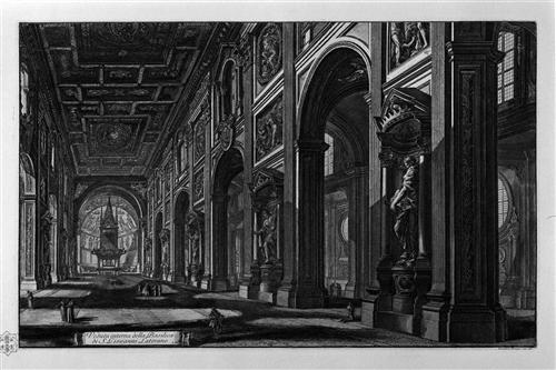 Egyptian Obelisk in the Plaza of St. John Lateran - Giovanni Battista Piranesi