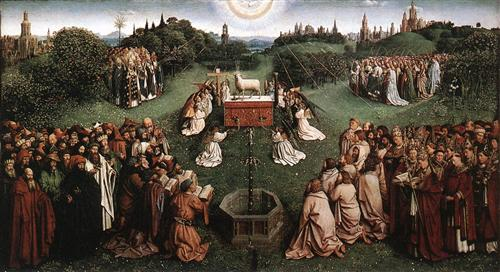 Adoration of the Lamb - Jan van Eyck