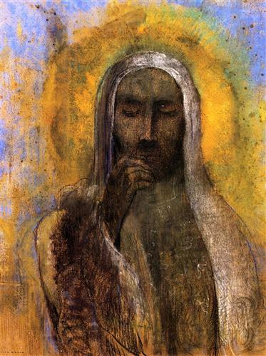 Christ in Silence - Odilon Redon