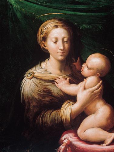 Madonna and Child - Parmigianino