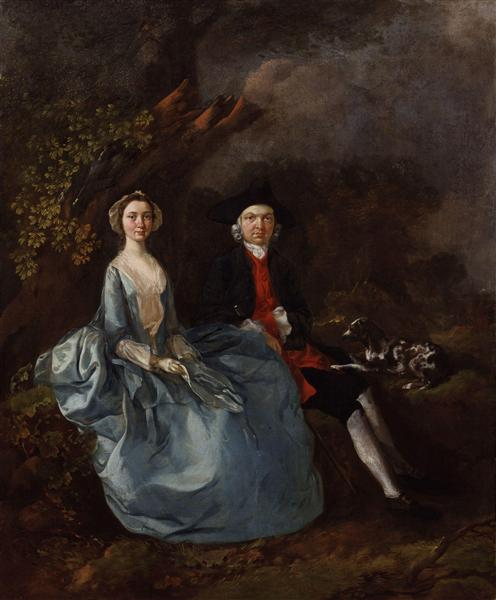 Gainsborough's portrait  of the Kirbys