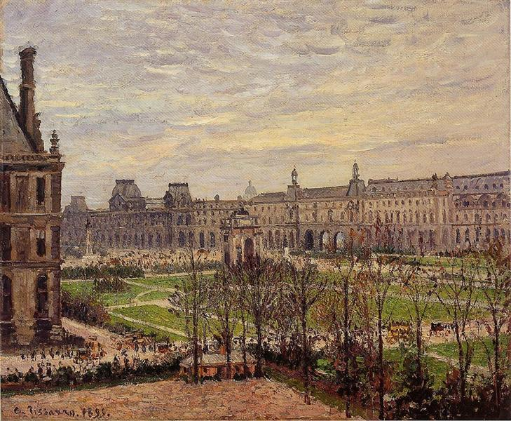 the carrousel grey weather 1899