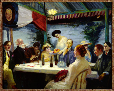 Yeats At Petitpas 1910 John French Sloan Wikiart Org