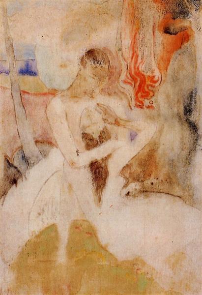 Here we make love - Gauguin Paul
