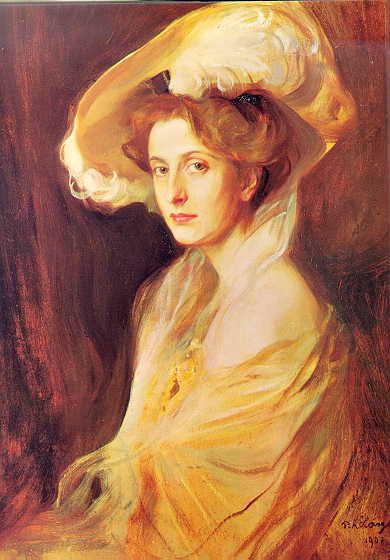 Princess Louise Mountbatten 1907 Philip De Laszlo