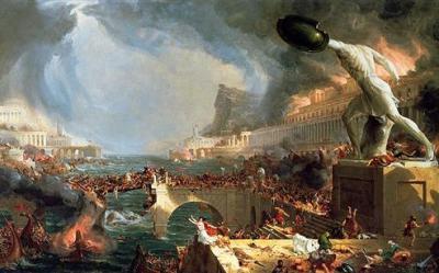 The Course of Empire: Destruction - Thomas Cole
