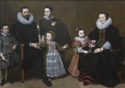 Family Portrait - Cornelis de Vos