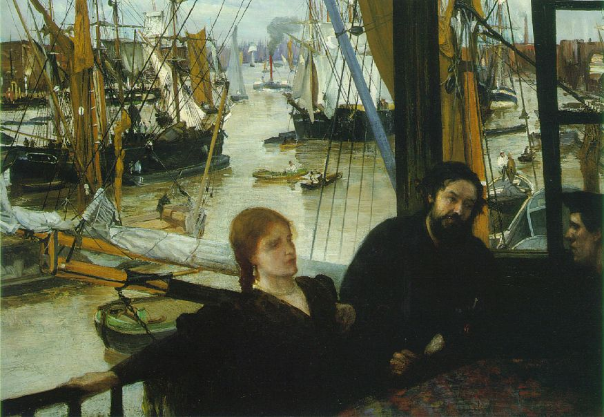 Wapping on Thames by Whistler