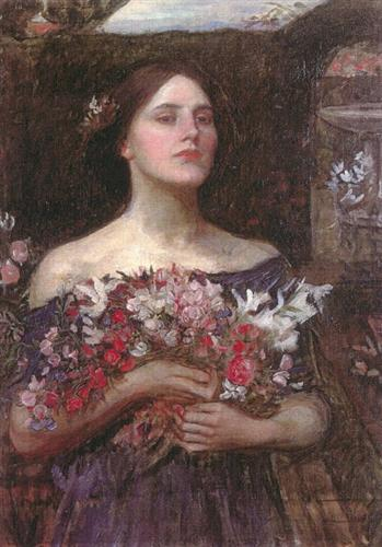 Gather Ye Rosebuds or Ophelia - John William Waterhouse