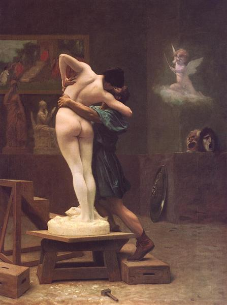 Pygmalion and Galatea - Jean-Leon Gerome