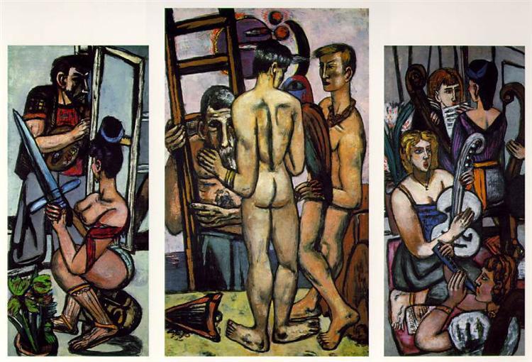 The argonauts, 1949 - 1950 - Max Beckmann