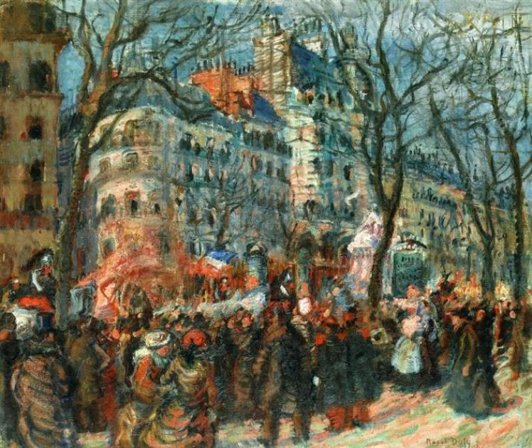 Carnival on the Grands Boulevards, 1903 - Raoul Dufy