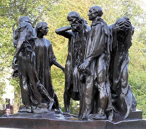 Burghers of Calais - Auguste Rodin