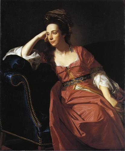 Mrs. Thomas Gage - John Singleton Copley