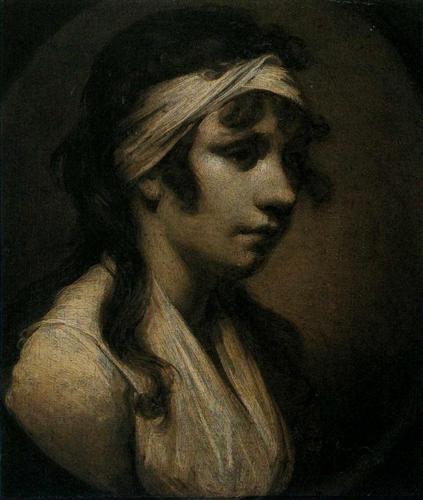 Harriet Wright, the Artist's Daughter - Joseph Wright