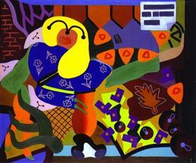 A Girl Selling Flowers - Desmond Morris