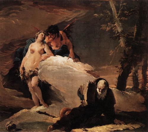 Temptations of St Anthony - Giovanni Battista Tiepolo