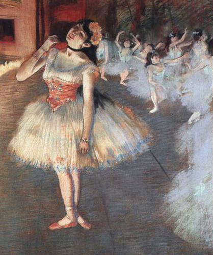 The Star - Edgar Degas - 1871-1881