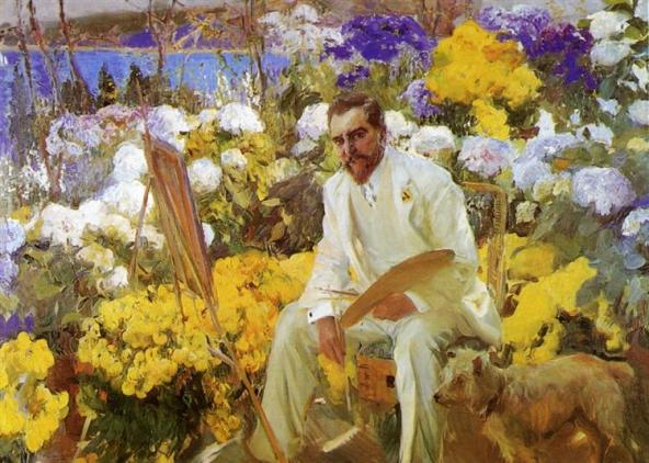 Louis Comfort Tiffany, 1911 - Joaquín Sorolla